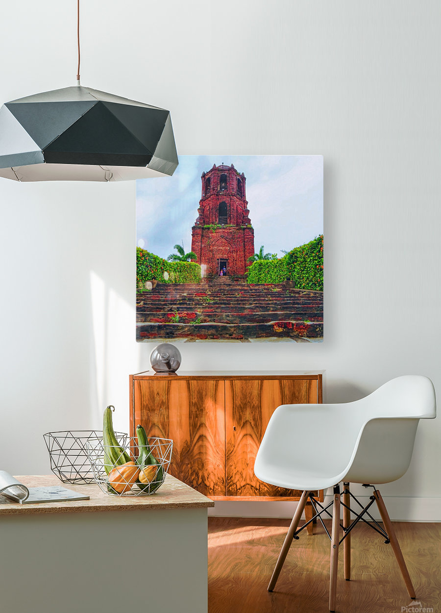 Chucrh  HD Metal print with Floating Frame on Back