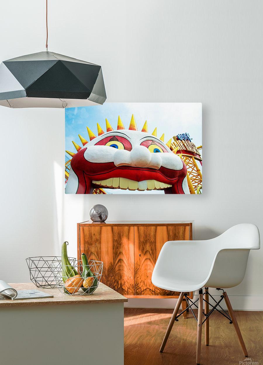 Hong Kong Park  HD Metal print with Floating Frame on Back