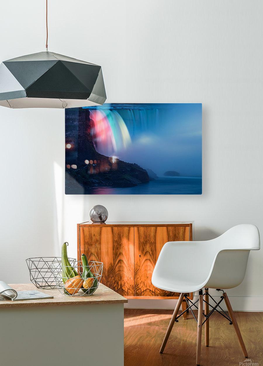 NIAGARA FALLS 02  HD Metal print with Floating Frame on Back