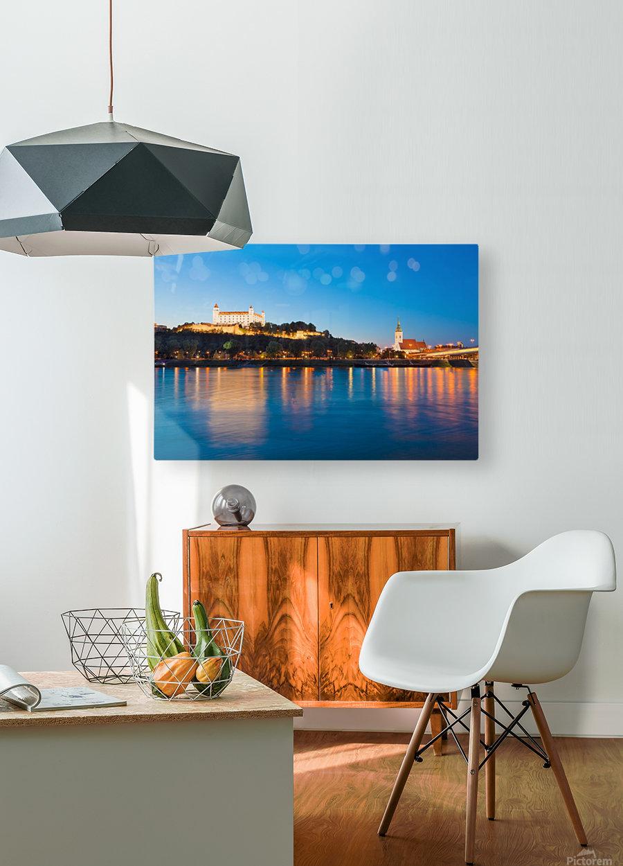 BRATISLAVA 05  HD Metal print with Floating Frame on Back