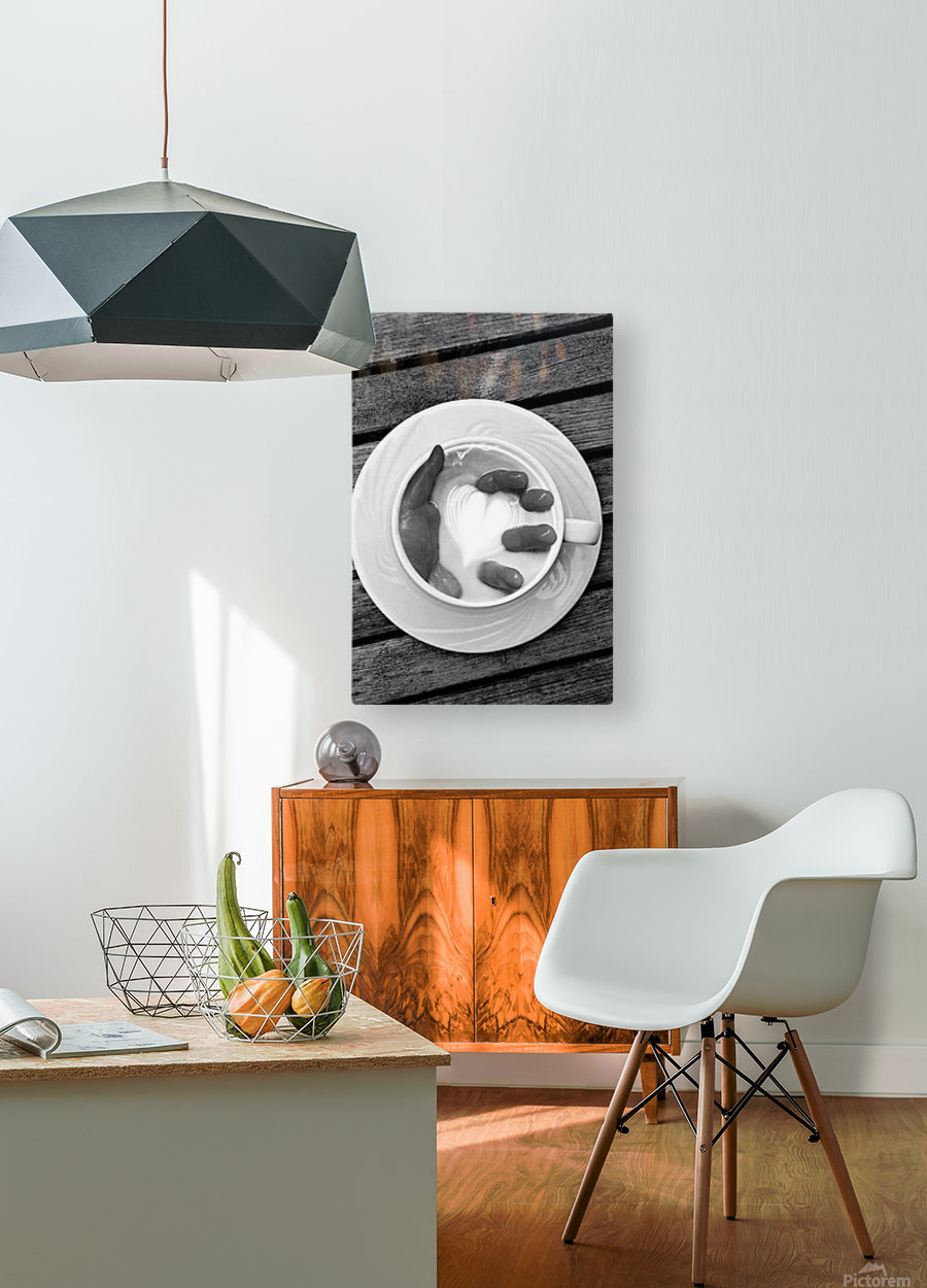 Unnamed  HD Metal print with Floating Frame on Back