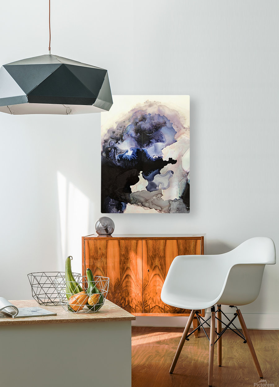 Electric Sky  HD Metal print with Floating Frame on Back