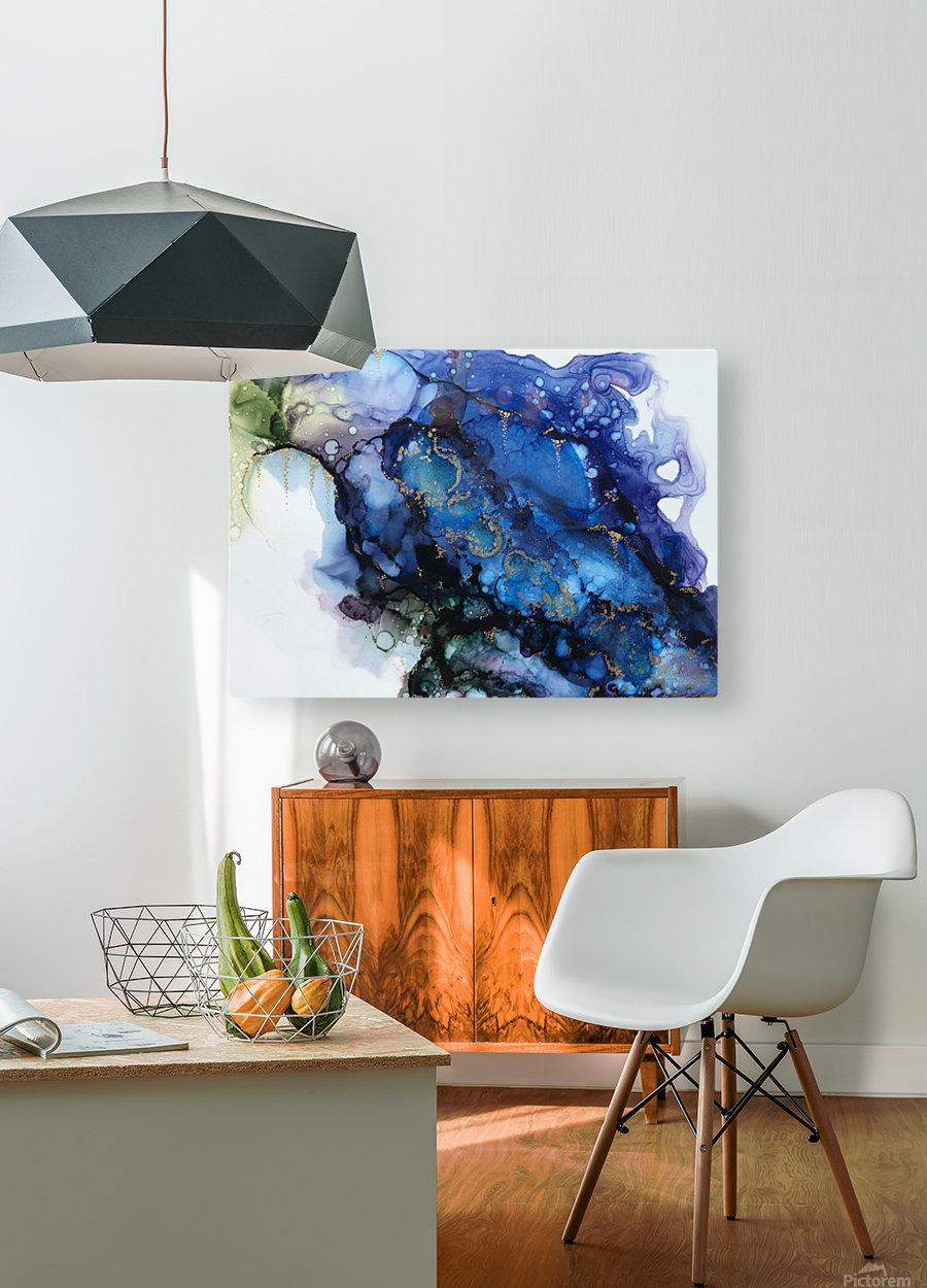 Secret Garden  HD Metal print with Floating Frame on Back