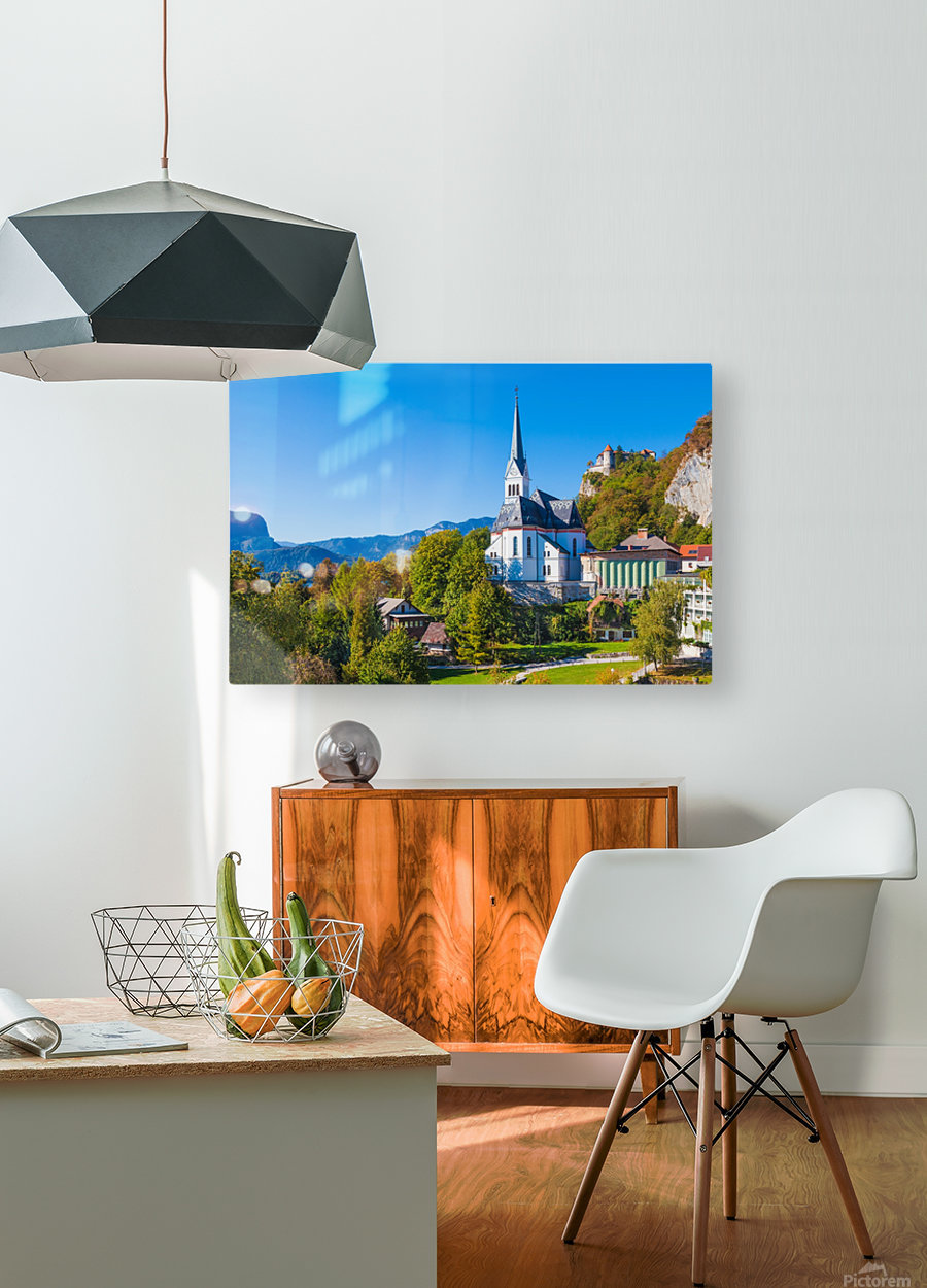 BLED 10  HD Metal print with Floating Frame on Back