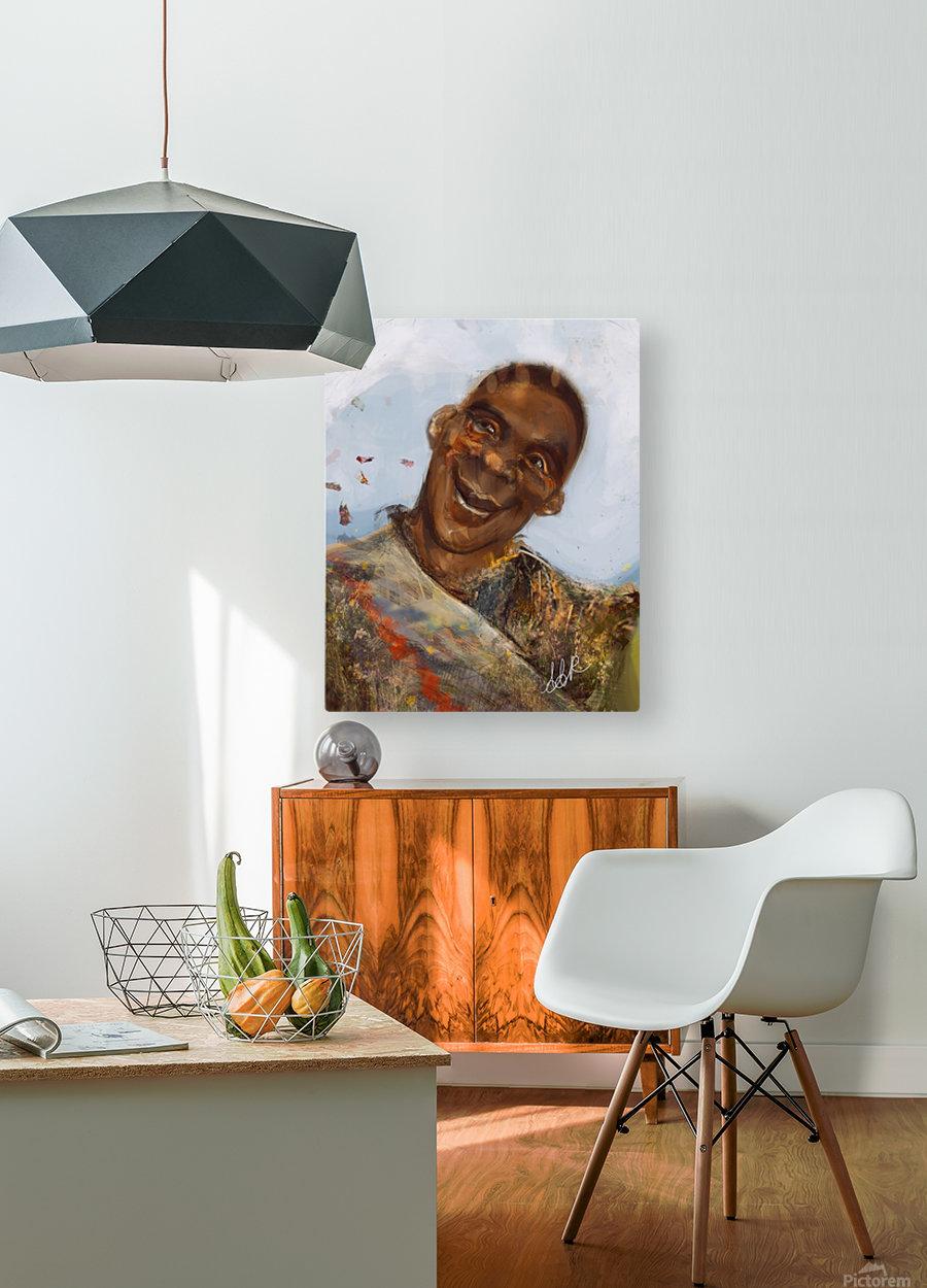 Boyo-Boyo  HD Metal print with Floating Frame on Back