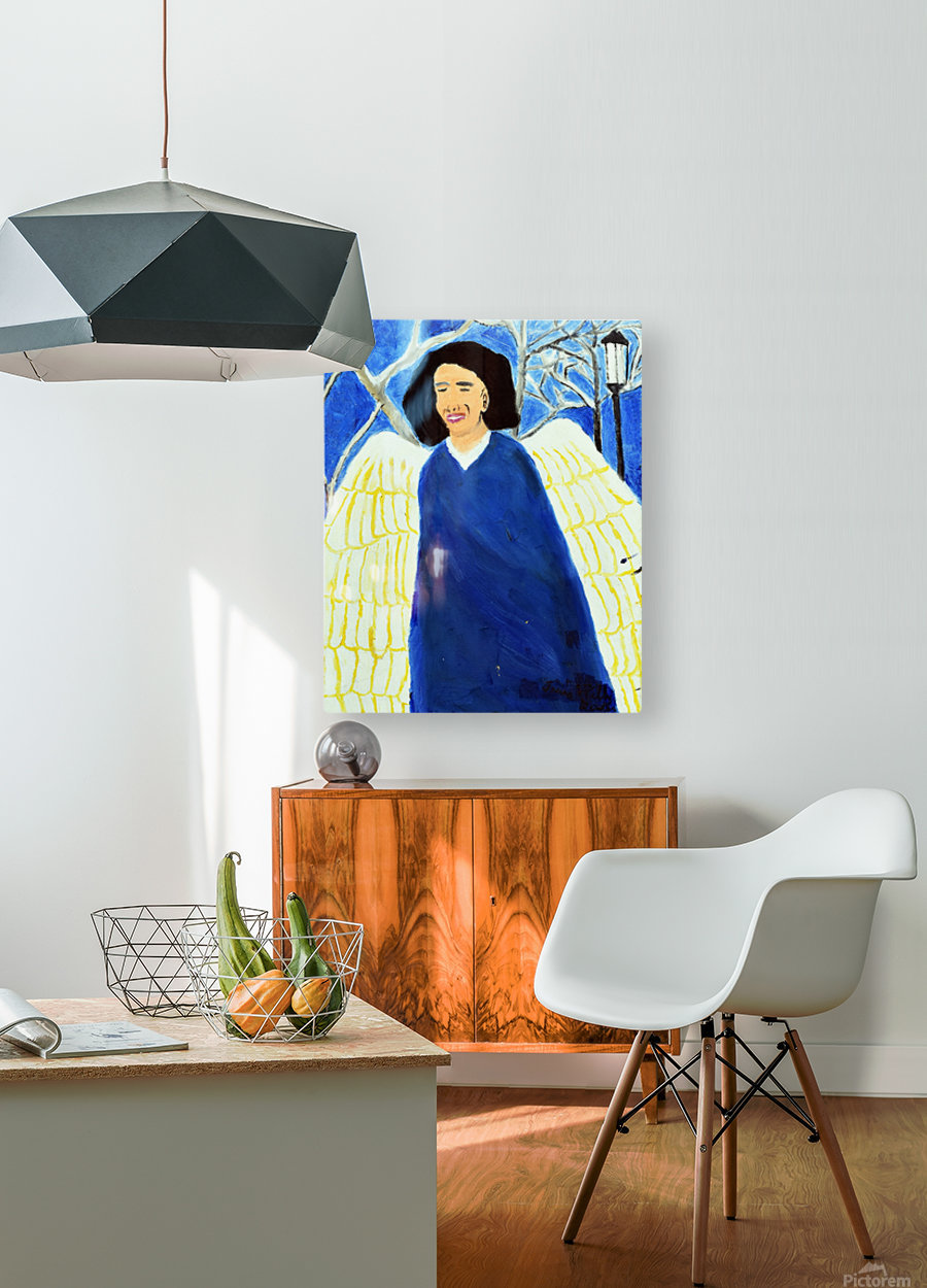 Angel. Kelly R  HD Metal print with Floating Frame on Back
