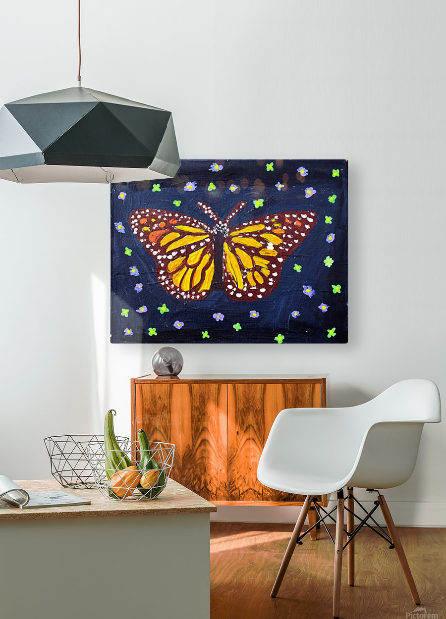 Mariposa. Maggie Z  HD Metal print with Floating Frame on Back