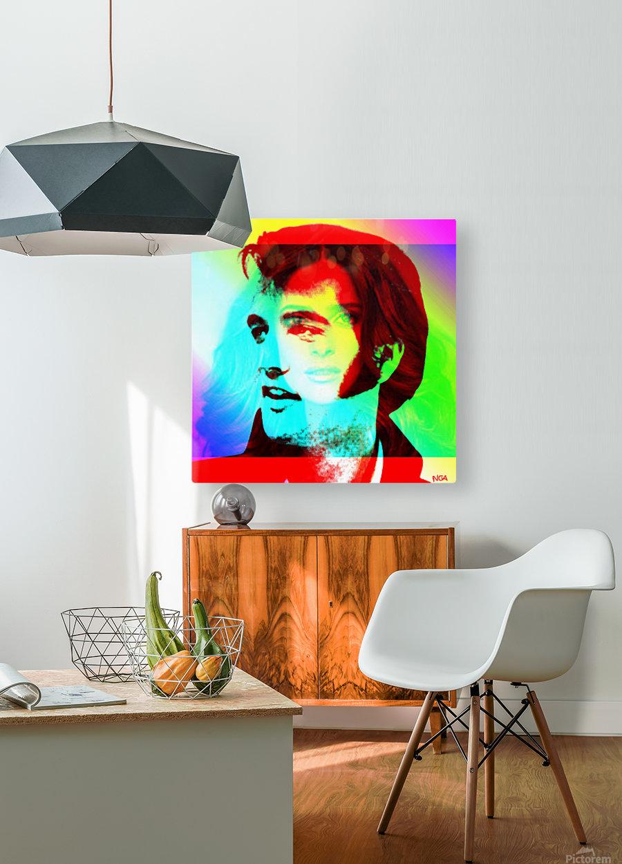 Elvis -Always on my Mind by Neil Gairn Adams  HD Metal print with Floating Frame on Back