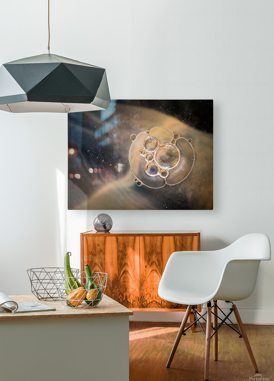 Far Away- Lointain  HD Metal print with Floating Frame on Back