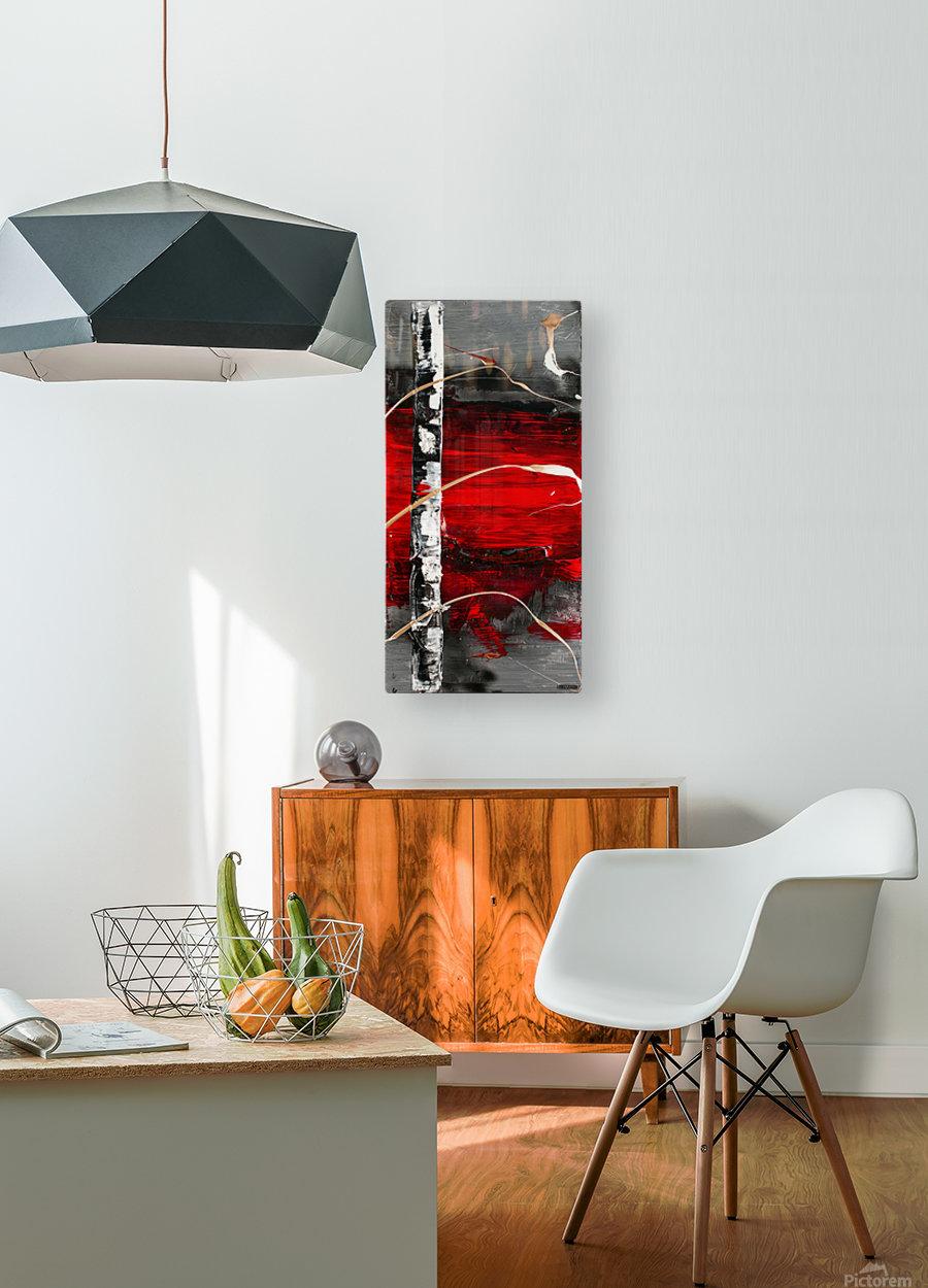 3013 - nobody else  HD Metal print with Floating Frame on Back