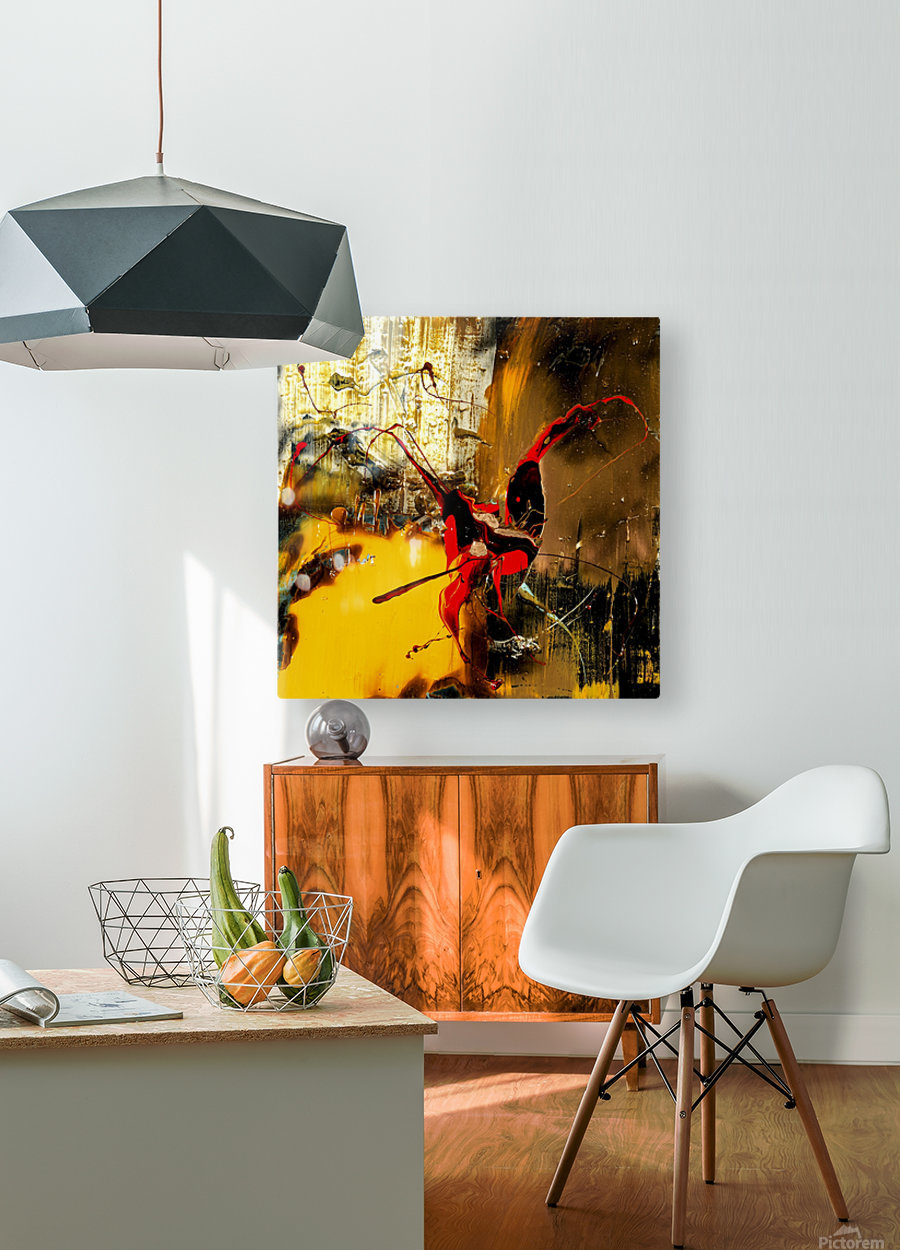 2820 energie star  HD Metal print with Floating Frame on Back