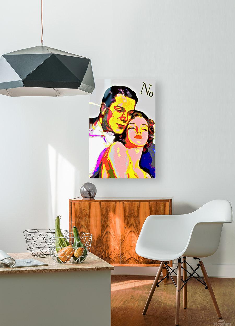 Voulez Vous Couchez Avec Moi - by Neil Gairn Adams  HD Metal print with Floating Frame on Back