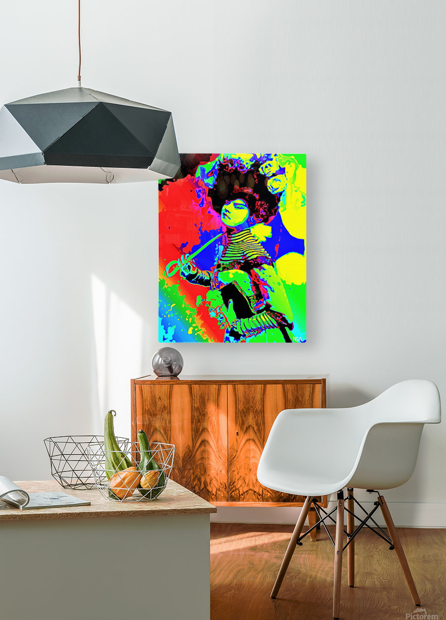 Lady with Parasol - by Neil Gairn Adams   HD Metal print with Floating Frame on Back