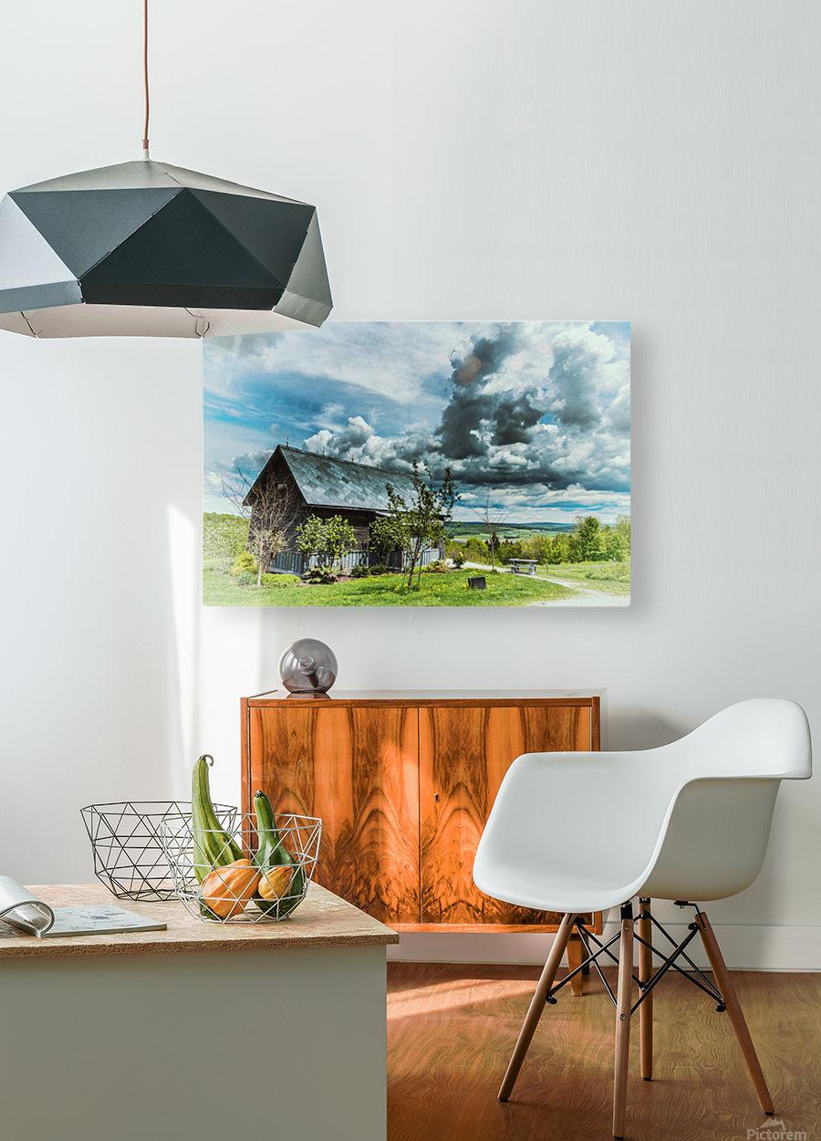 Maison du Rebut Global  HD Metal print with Floating Frame on Back