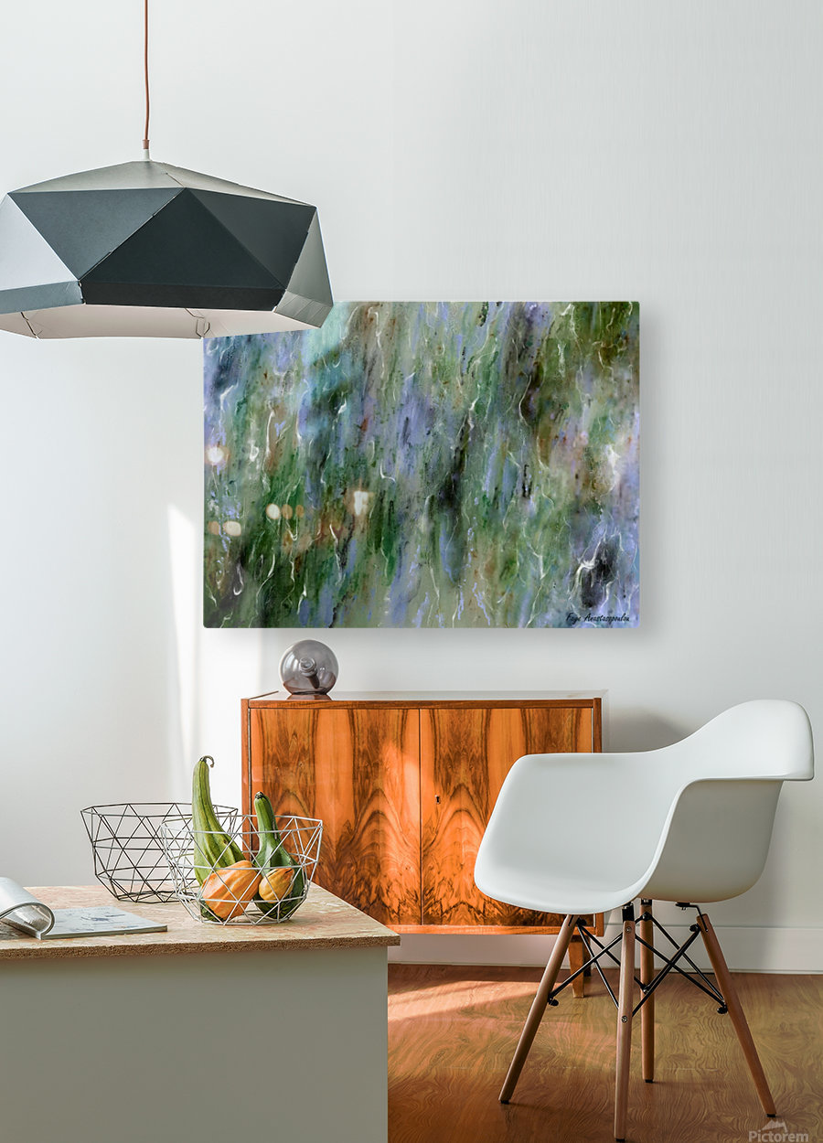 Withdrawn  HD Metal print with Floating Frame on Back