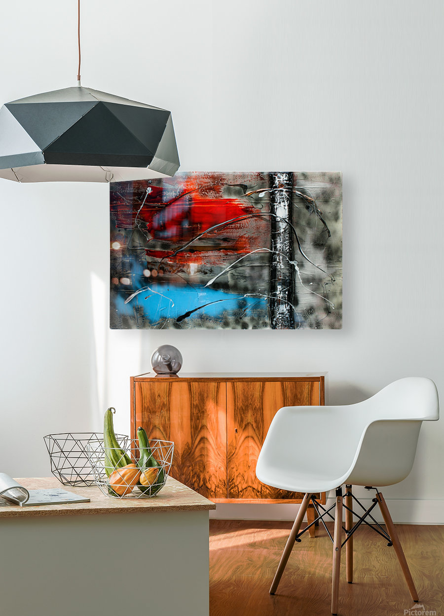 3037   beautiful dawn  HD Metal print with Floating Frame on Back