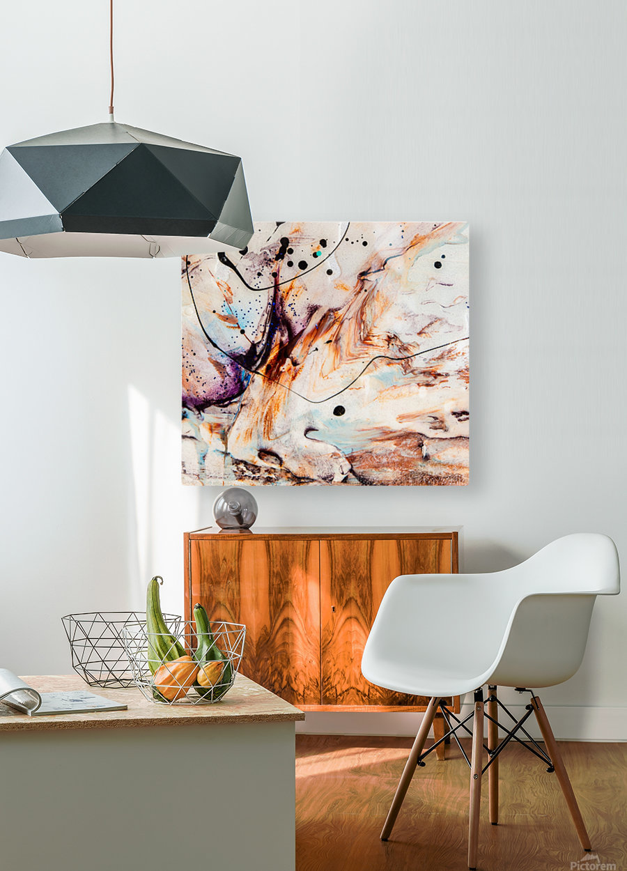 Sophia Quatre  HD Metal print with Floating Frame on Back