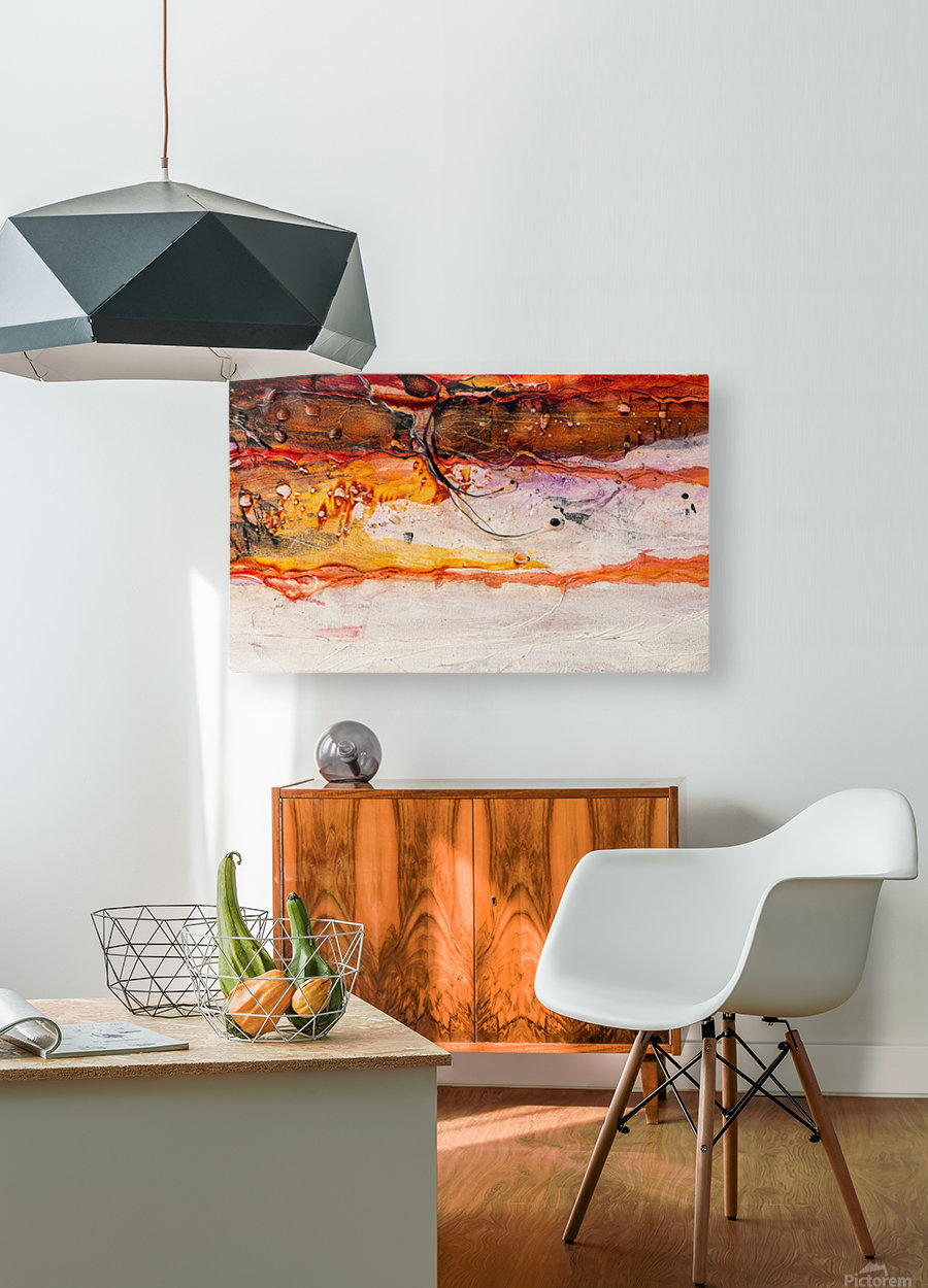 Sophia Huit  HD Metal print with Floating Frame on Back