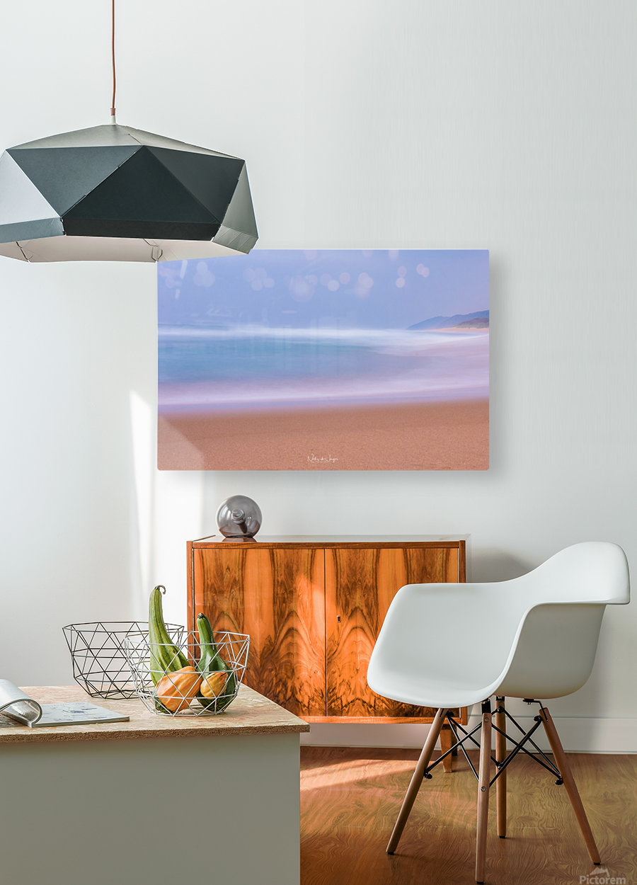 Seascape  HD Metal print with Floating Frame on Back