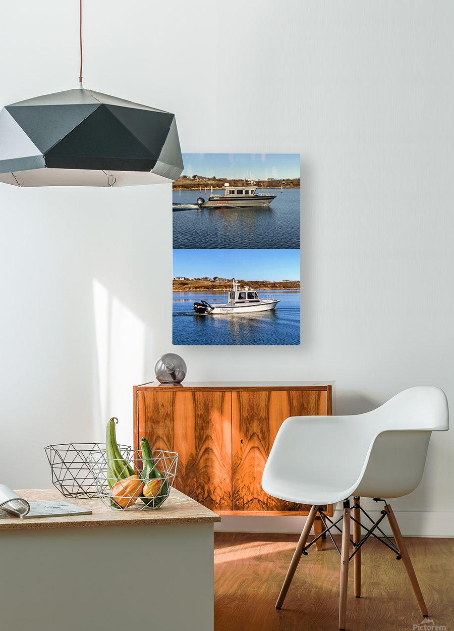 Cuttyhunk Vessels KMB 20x30 ACRYLIC 4 PRINT  HD Metal print with Floating Frame on Back