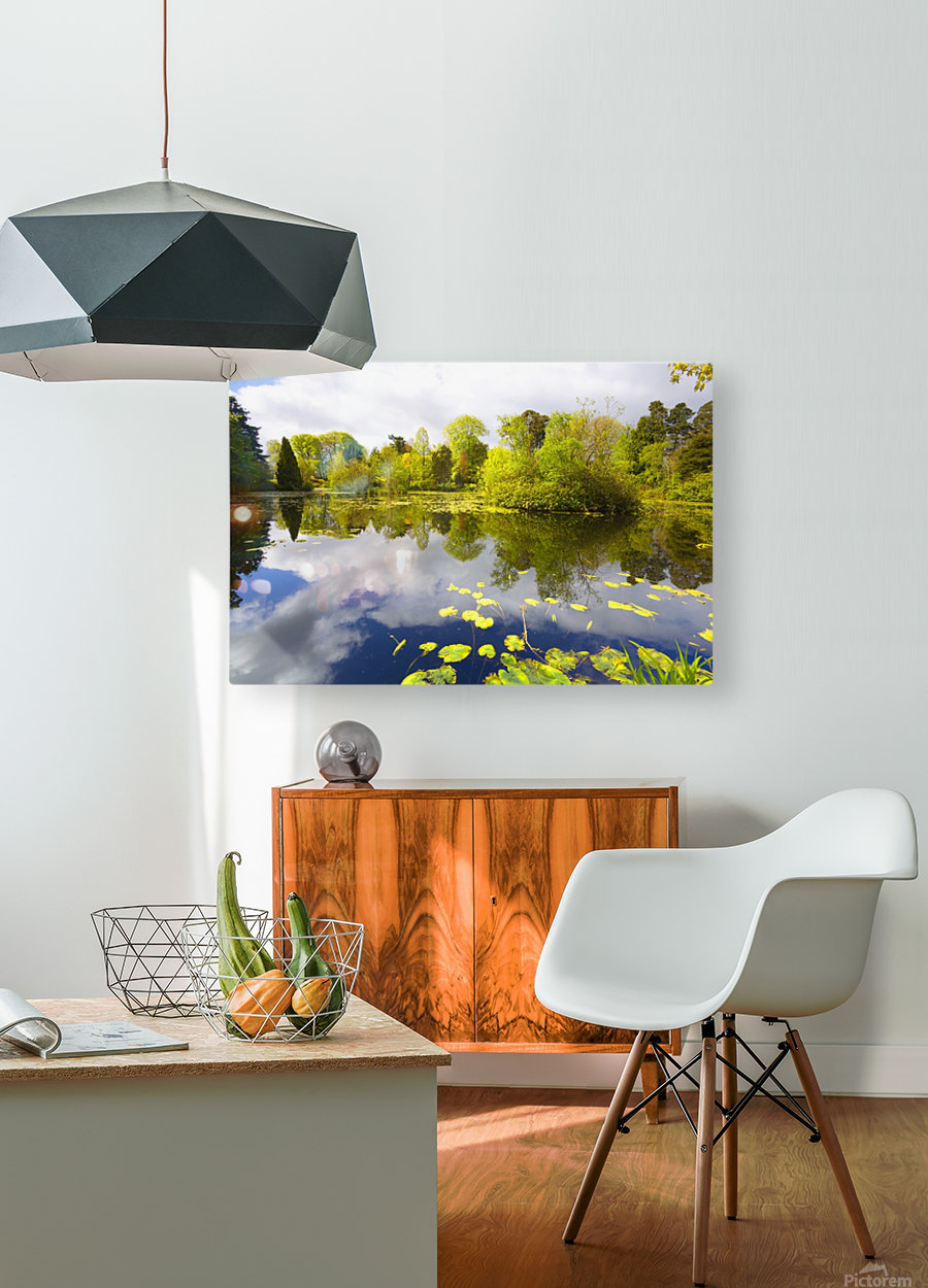 CW 029 Altamont Garden, Co.Carlow  HD Metal print with Floating Frame on Back