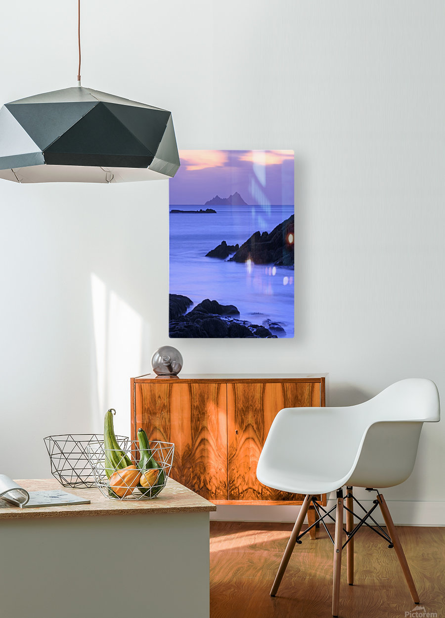 KY 281 Ballinskelligs Bay   HD Metal print with Floating Frame on Back