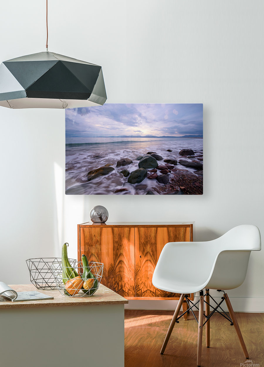 KY 313  Rossbeigh  HD Metal print with Floating Frame on Back