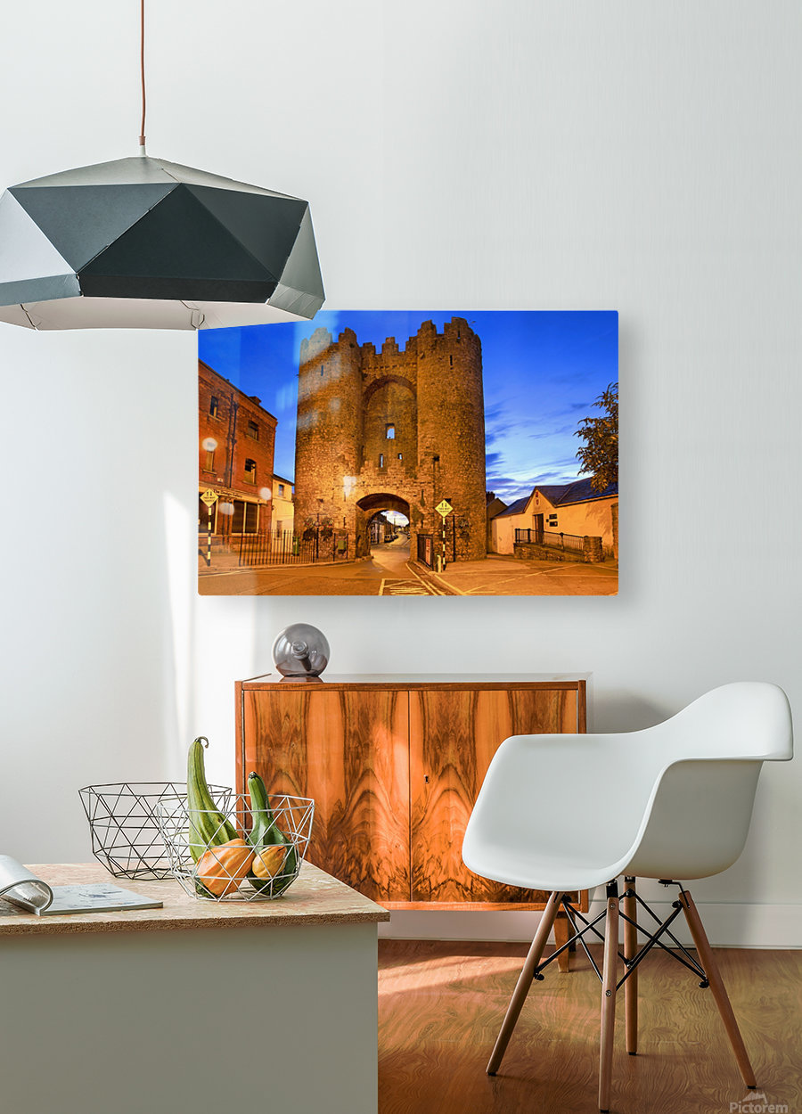 LH 034 St.Lawerence Gate  HD Metal print with Floating Frame on Back