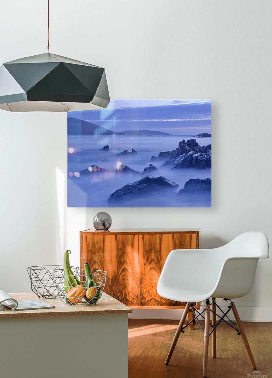 C 649 Beara Twilight  HD Metal print with Floating Frame on Back