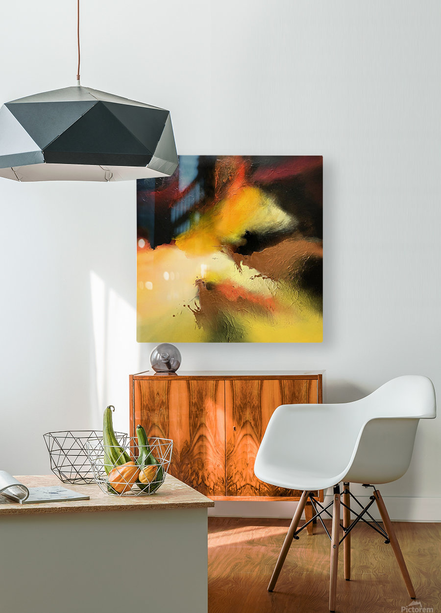 A start is born  HD Metal print with Floating Frame on Back