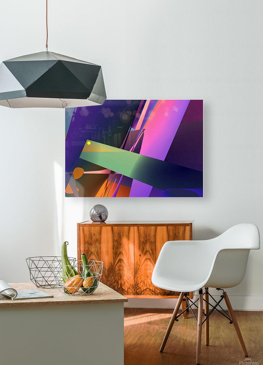 meditation 0214d26 19  HD Metal print with Floating Frame on Back