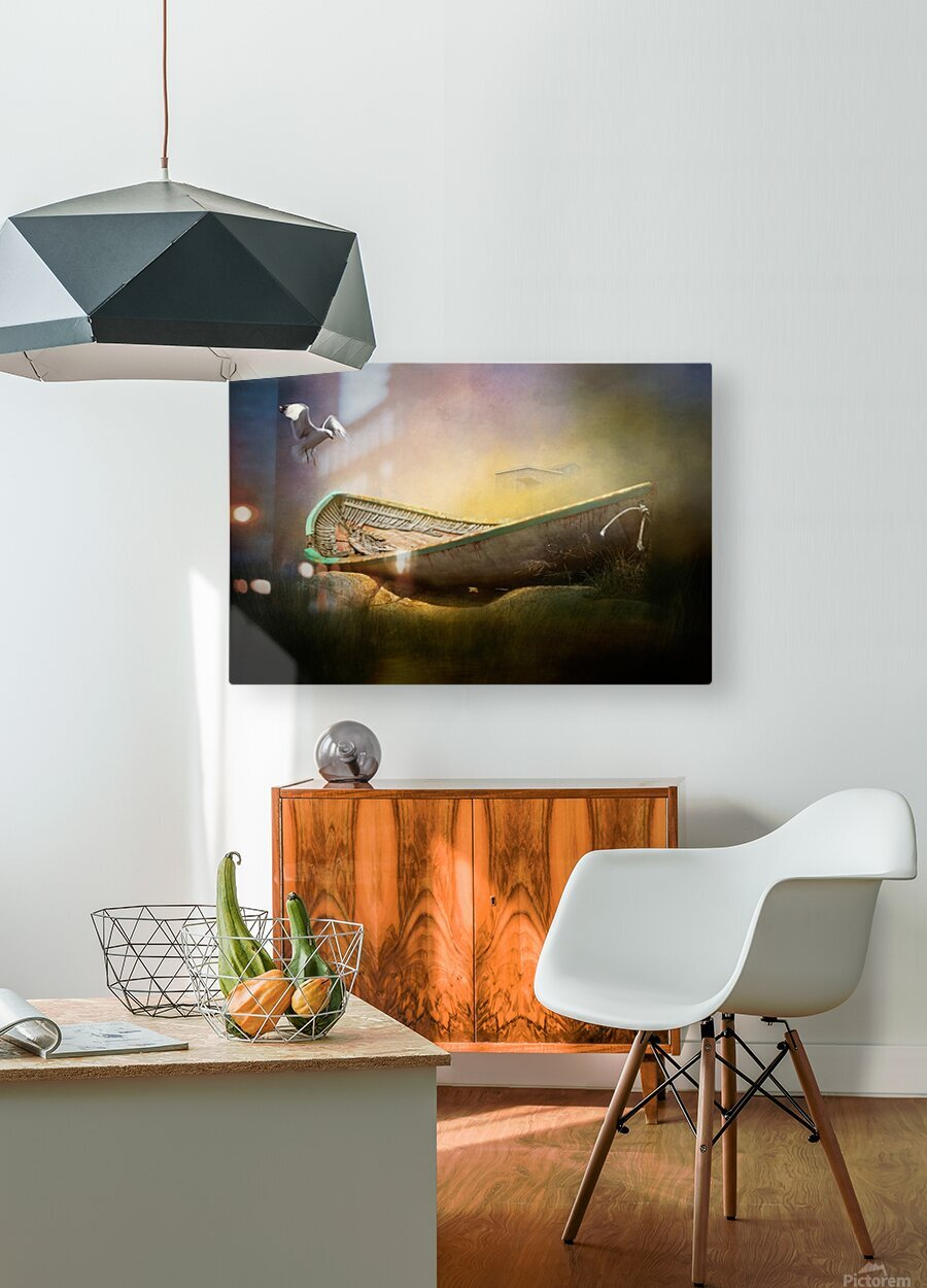 Old but not forgotten  HD Metal print with Floating Frame on Back