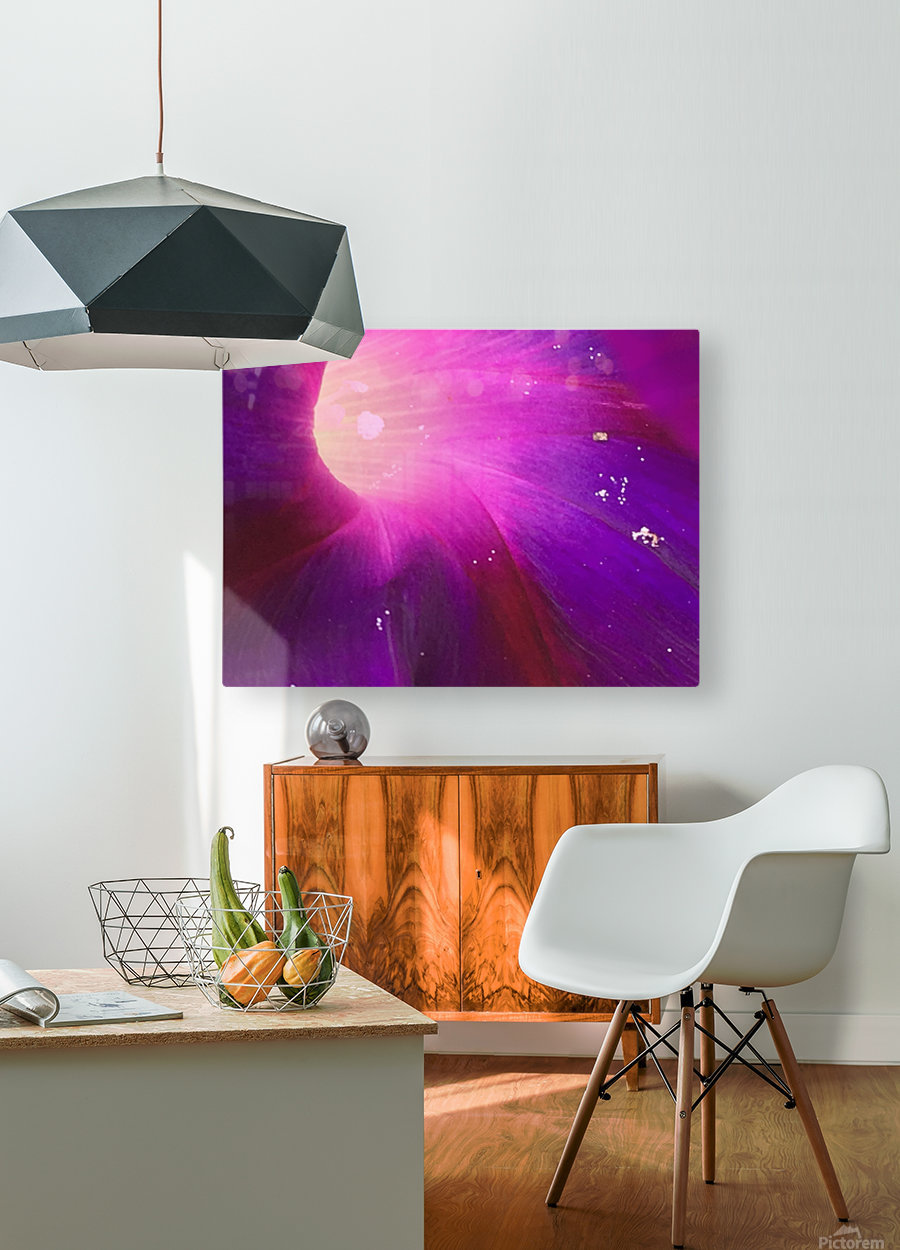 Pollens   HD Metal print with Floating Frame on Back