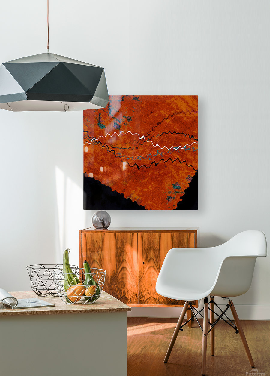 Ancient Paths  HD Metal print with Floating Frame on Back