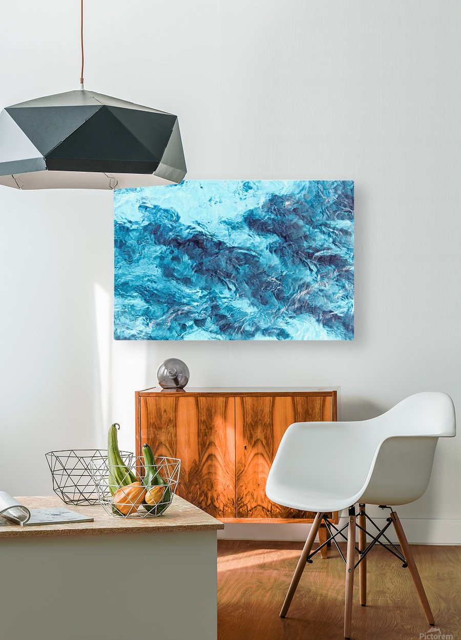 Tropical XXI  HD Metal print with Floating Frame on Back