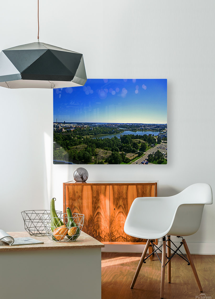 Up Above  HD Metal print with Floating Frame on Back