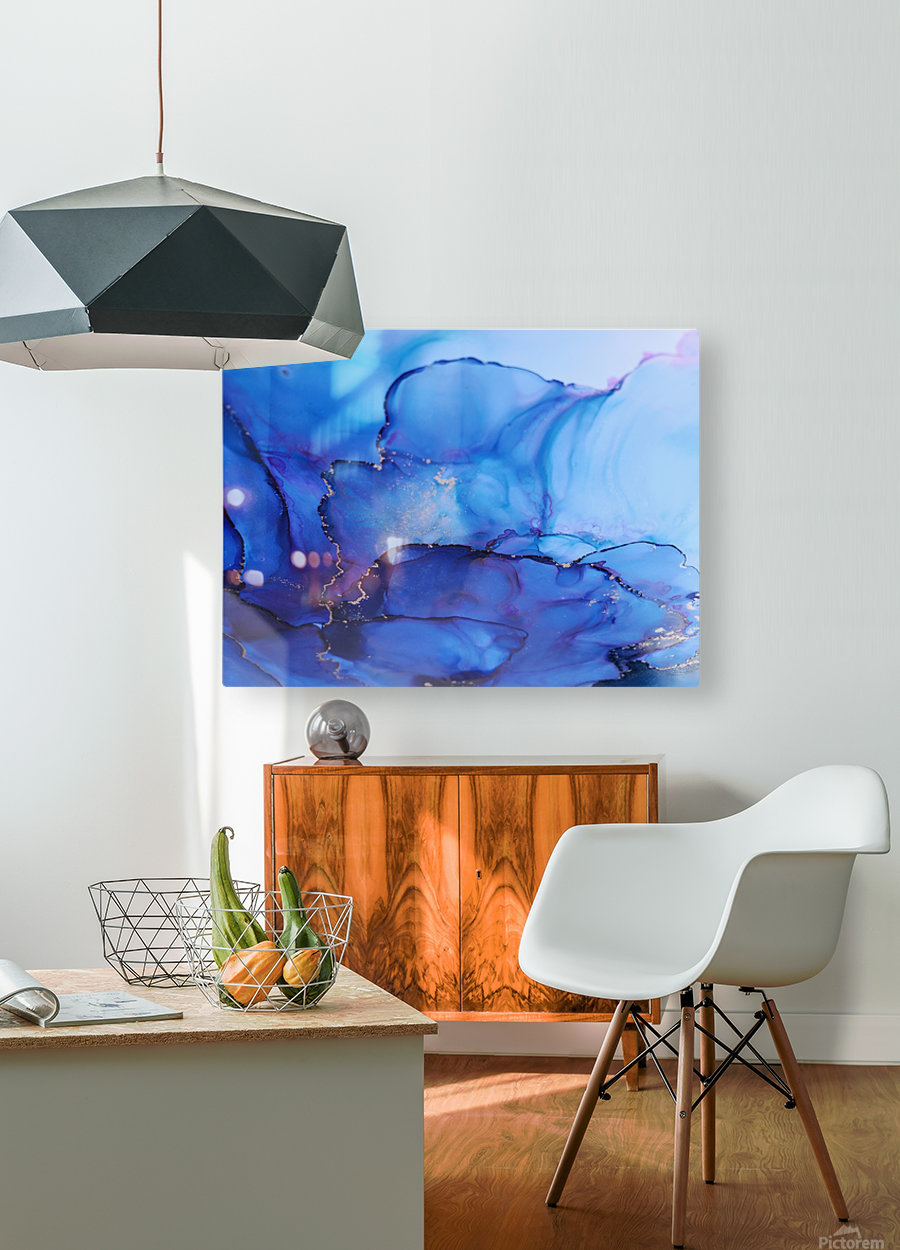 Summer Fun | Close up  HD Metal print with Floating Frame on Back