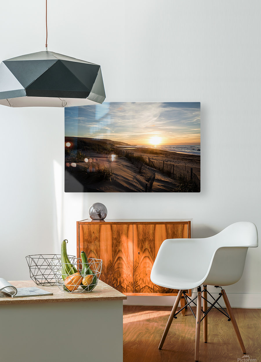 Inverness  HD Metal print with Floating Frame on Back