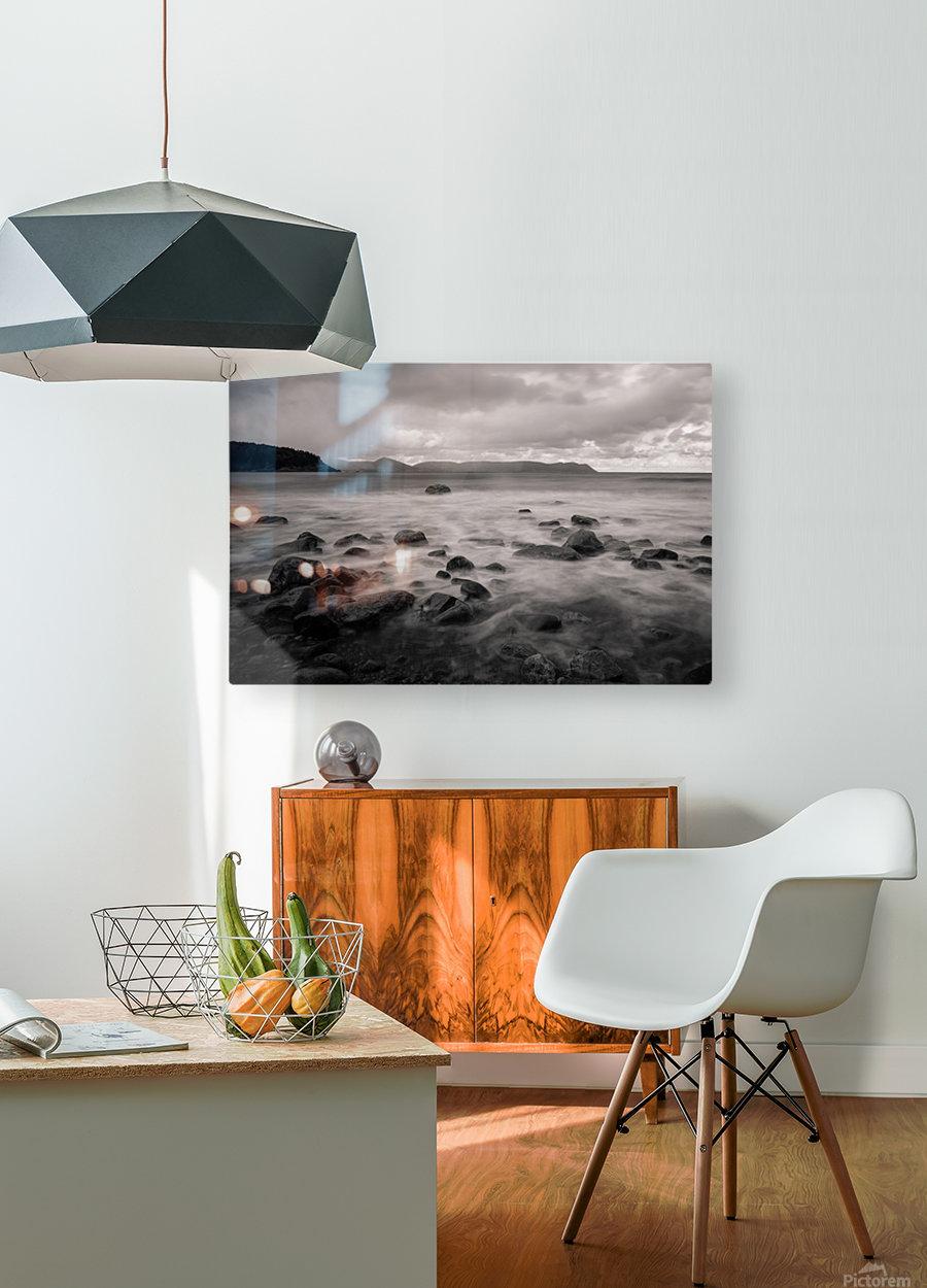 Smelt Brook  HD Metal print with Floating Frame on Back