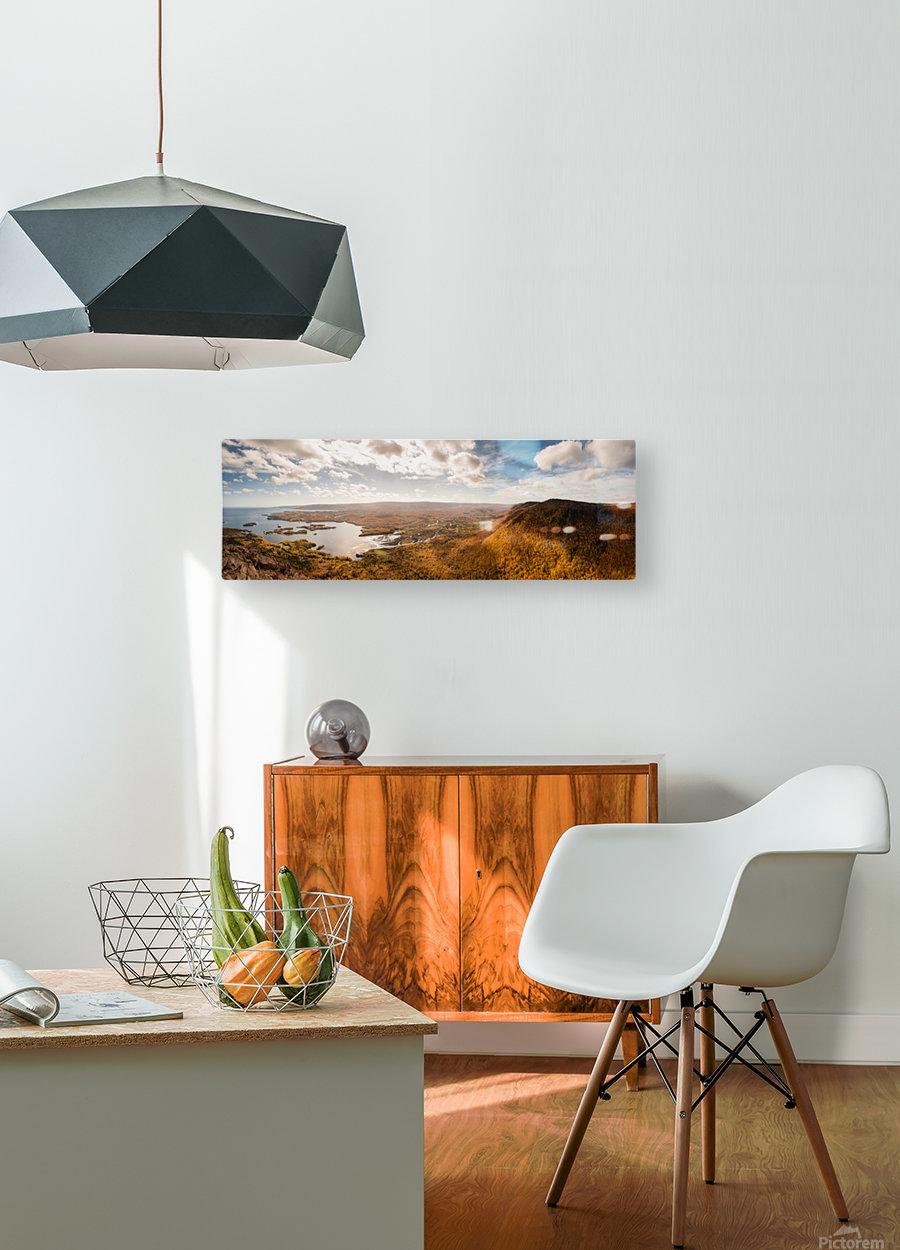 Sugar Loaf  HD Metal print with Floating Frame on Back