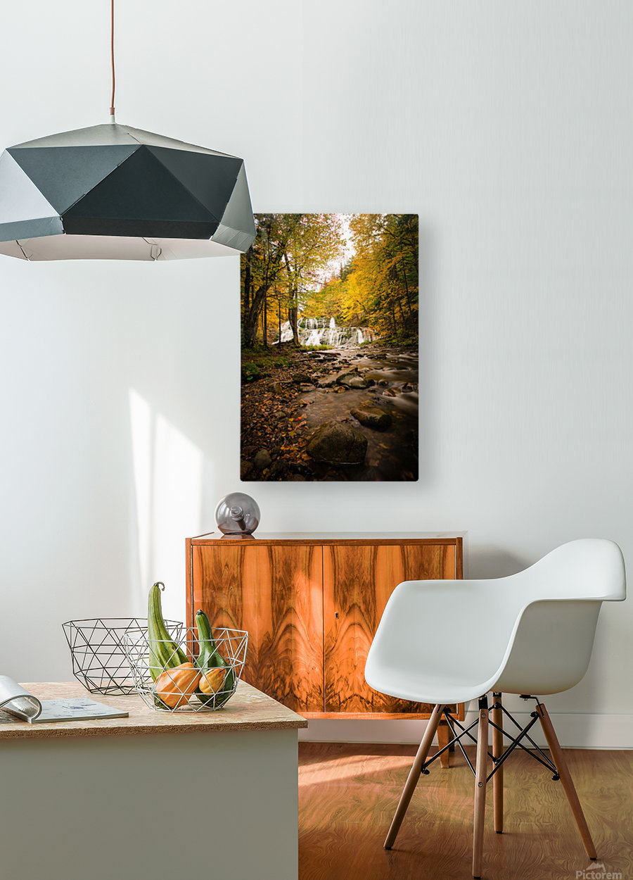 Egypt Falls  HD Metal print with Floating Frame on Back