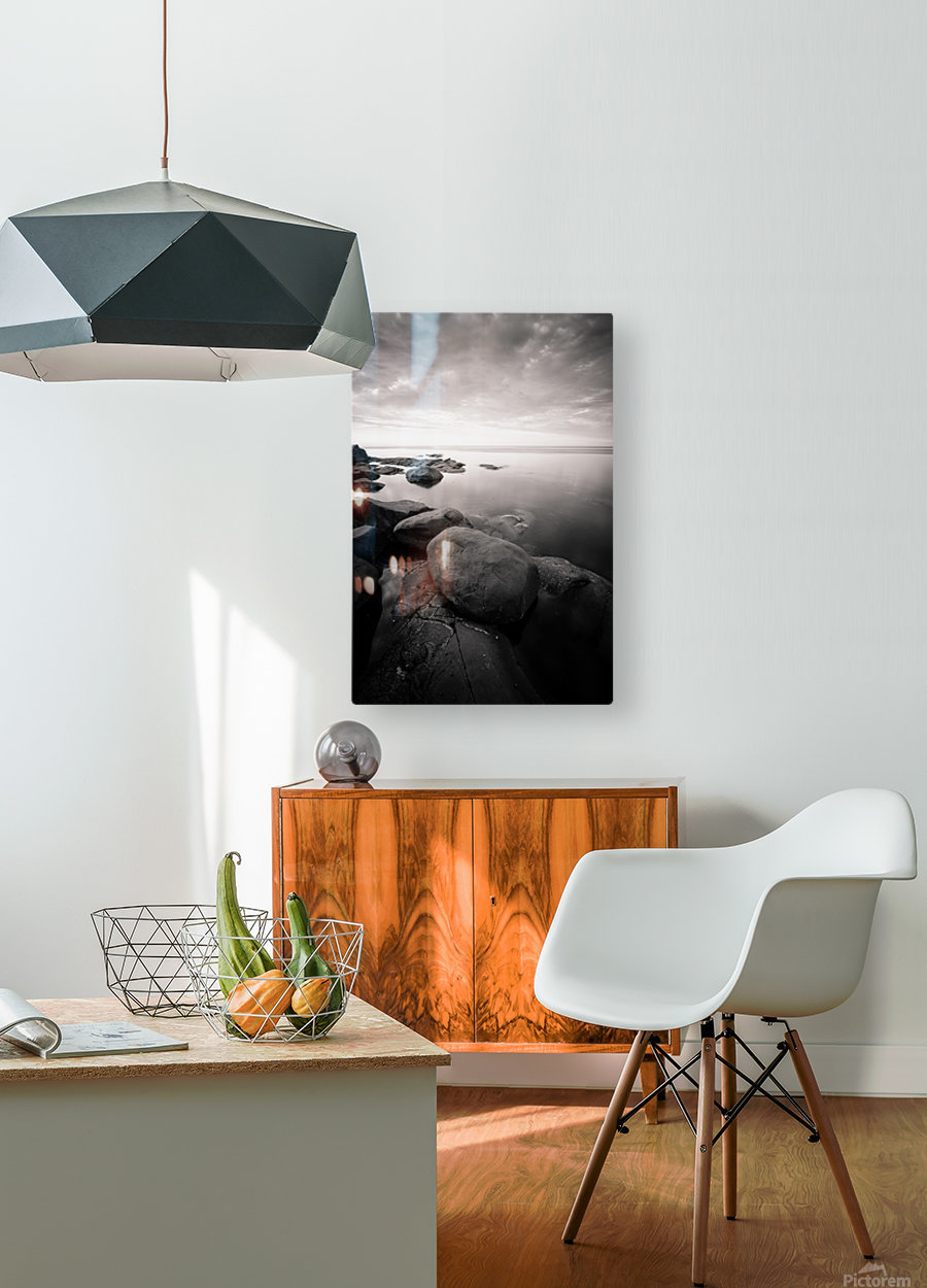 Moment of zen  HD Metal print with Floating Frame on Back