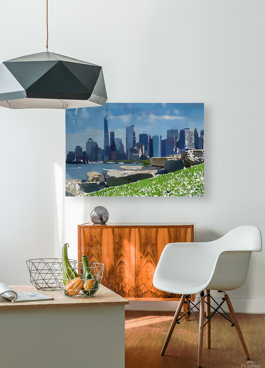 NEW YORK_View  031  HD Metal print with Floating Frame on Back