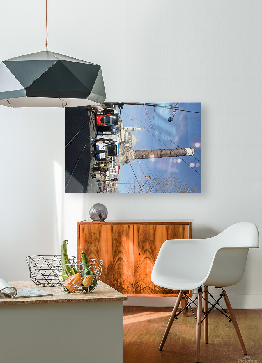 Chemberlitash  HD Metal print with Floating Frame on Back