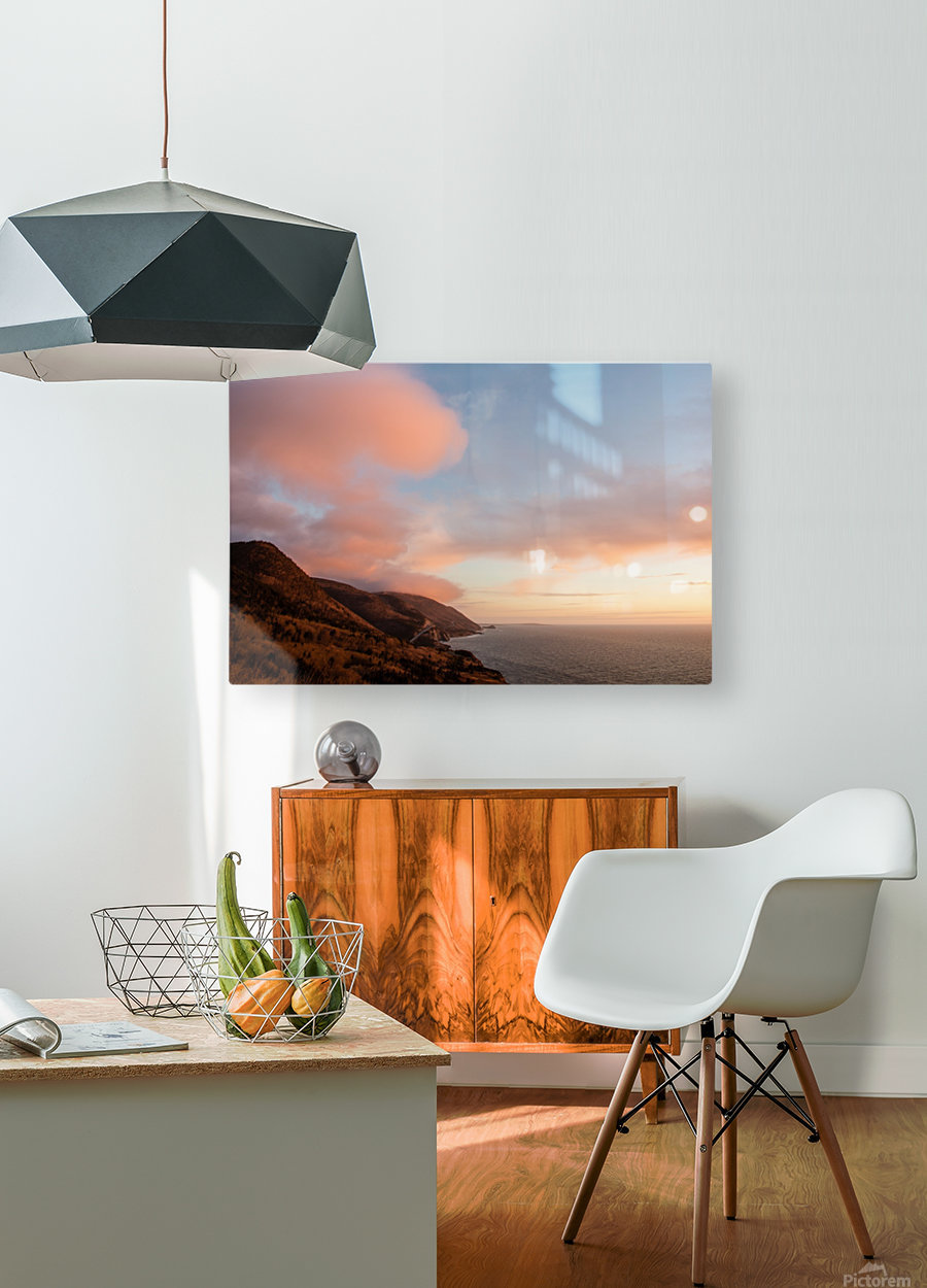 Gods country  HD Metal print with Floating Frame on Back