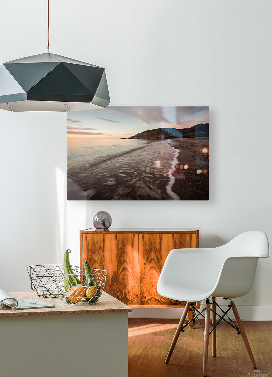 Le Buttereau  HD Metal print with Floating Frame on Back