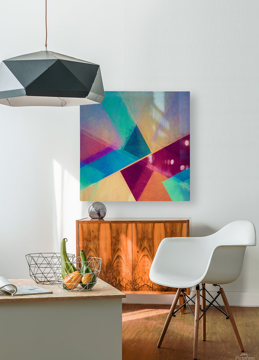 Obliquities  HD Metal print with Floating Frame on Back