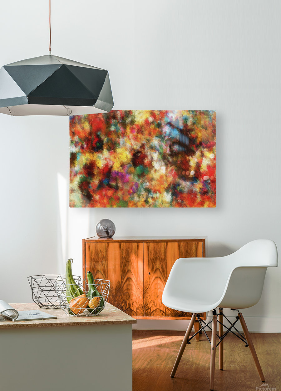 Anemones II  HD Metal print with Floating Frame on Back
