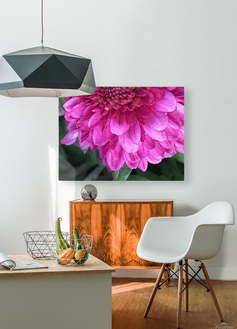 Joyful Experience   Impression métal HD avec cadre flottant sur le dos