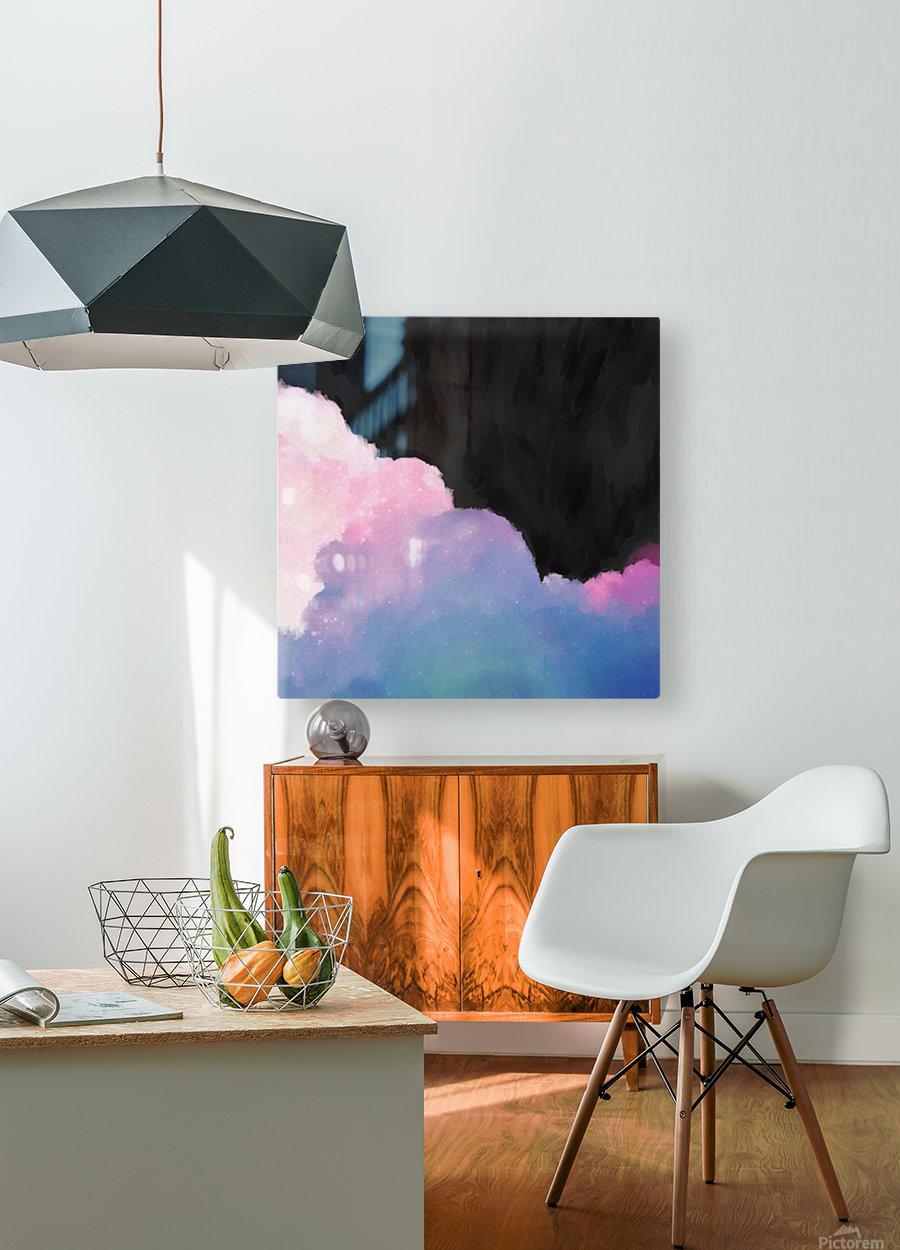 Melbourne I  HD Metal print with Floating Frame on Back